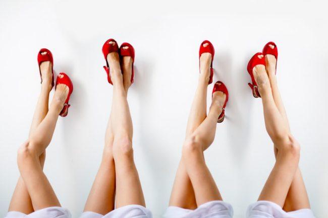 женские ножки без волос