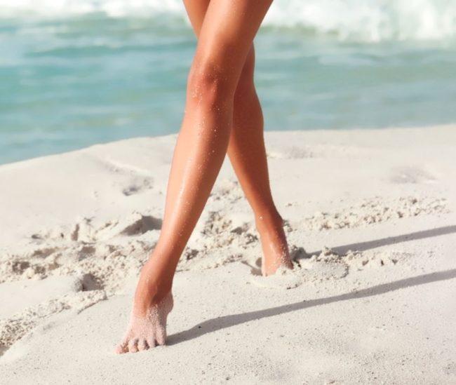 гладкие ножки у девушек