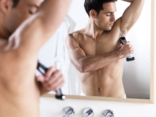 нужно ли брить подмышки мужчинам