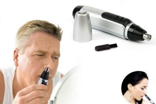 удаление волос в носу триммером